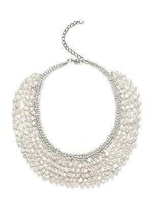 Seapearl Woven Collar Bridal Necklace