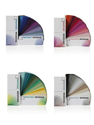 PANTONE WEDDING™ 2016 Guides (4 Pack)