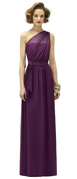 Lela Rose LR188 Long One Shoulder Belt