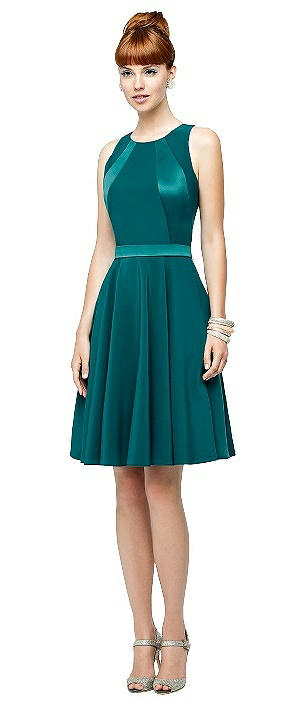 Lela Rose LR193X Cocktail Sleeveless Pockets