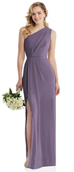 Social Bridesmaid 8156 Long One Shoulder