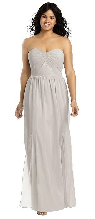 Social Bridesmaid 8159 Long Strapless