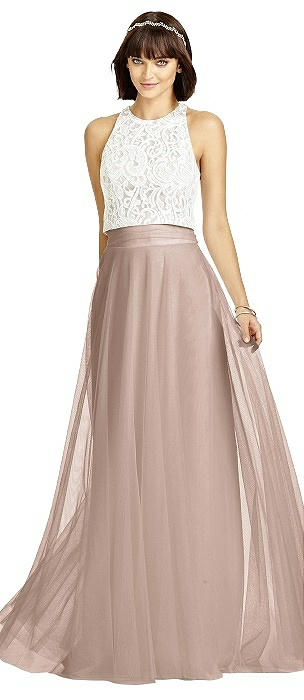 Dessy S2977 Long Circle Skirt