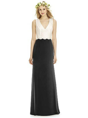 Social Bridesmaid 8172 Long Sleeveless Empire Waist