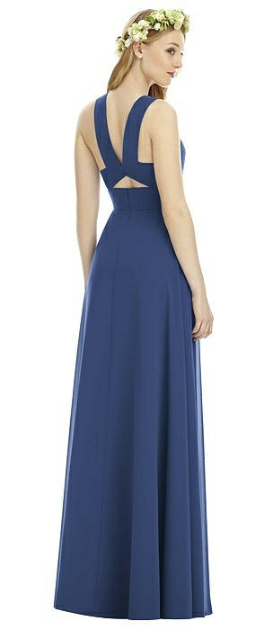 Social Bridesmaid 8177 Long Sweetheart Neckline