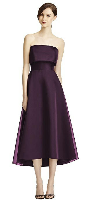 Lela Rose LR234 Strapless Midi Length